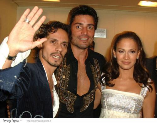 Chayanne, Marc Anthony, Jennifer Lopez 2005