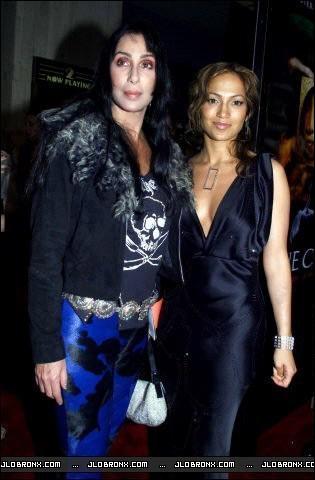 Jennifer Lopez Hintergrund entitled Cher & Jennifer Lopez 2000