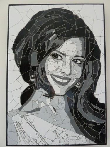 Cheryl Cole मोज़ेक portrait