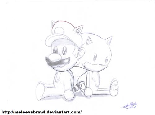 Chivi Toys Mario & Sonic :3