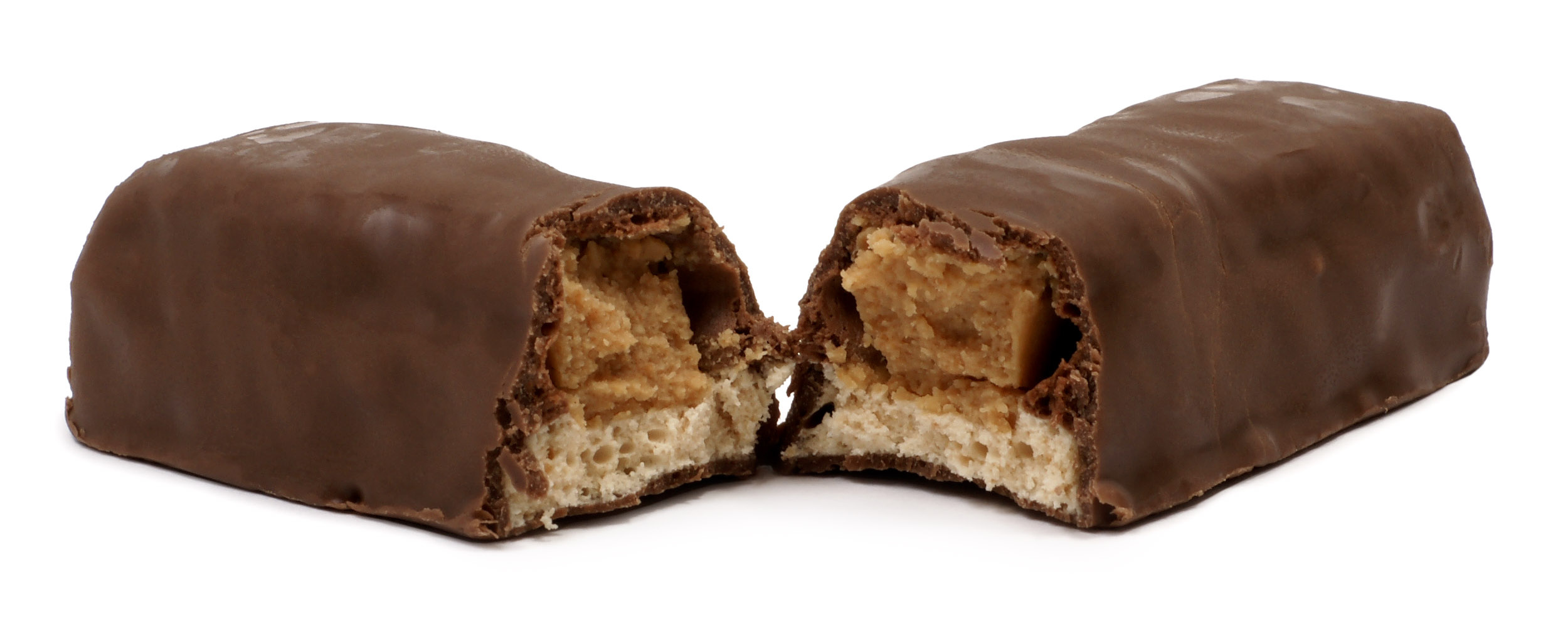 Chocolate Split In Half