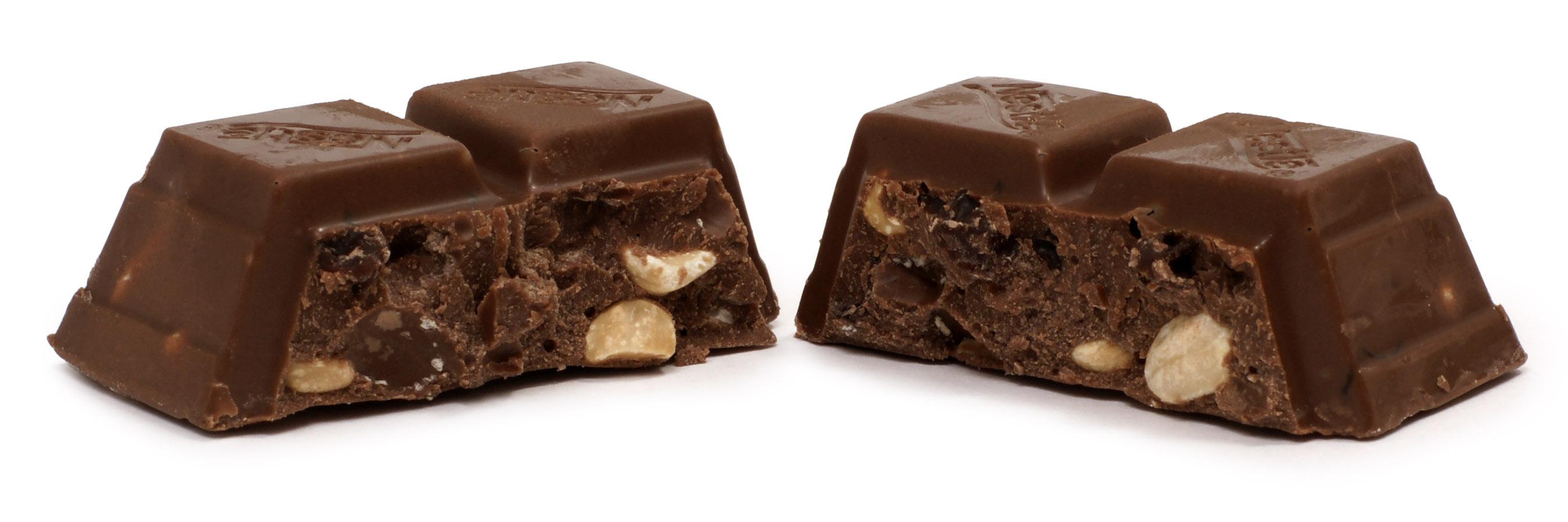 Chocolate Chocolate Split In Half