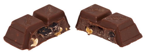 cokelat membagi, split In Half