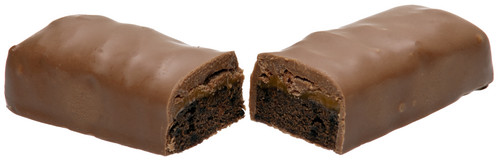 chocolate división, split In Half