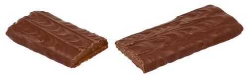 Schokolade teilt, split In Half