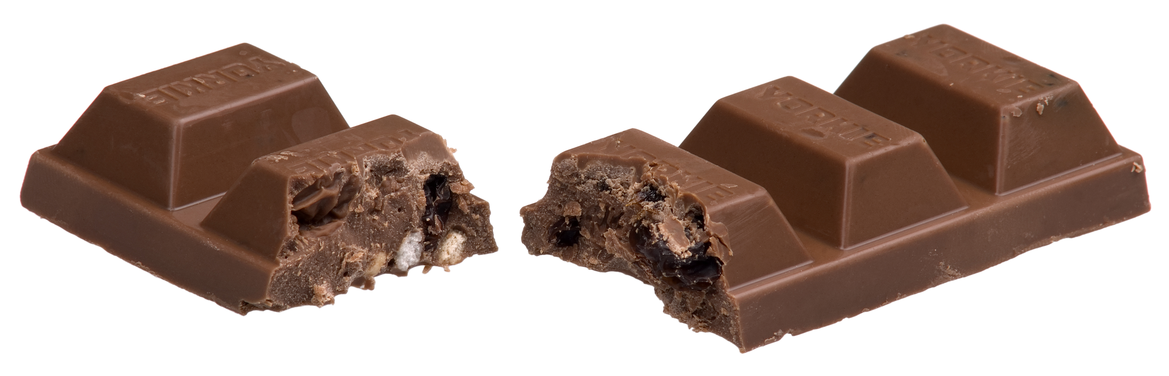 Chocolate Split In Half