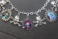 Choose Your Own MONSTER HIGH dolls custom charm bracelet - monster-high fan art