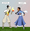 Clash - zuko-and-katara fan art