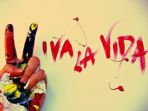 Coldplay ~ Viva La Vida