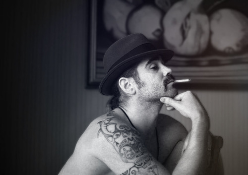 Colin Farrell wallpaper probably containing a fedora entitled Colin Fan Art