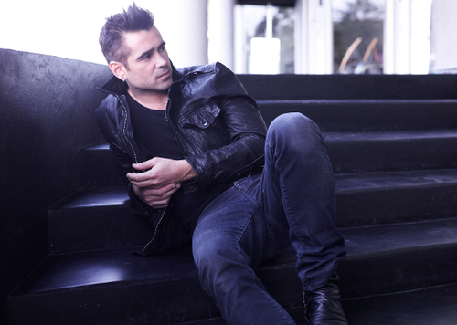 Colin Farrell wallpaper containing a family room and a living room entitled Colin Fan Art