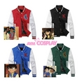 Conan Edogawa And Heiji Hattori's Varsity Jacket - detective-conan photo