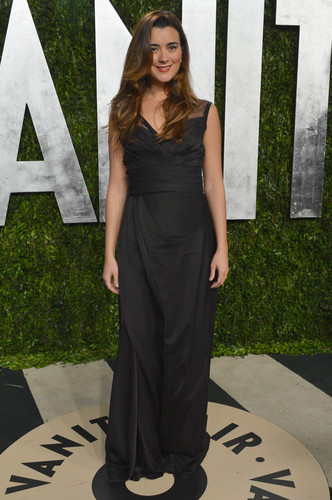 Cote de Pablo at the Vanity Fair Oscars Party 2/24/13