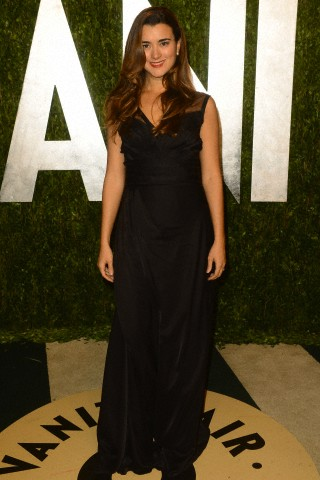 Cote de Pablo at the Vanity Fair Oscars Party