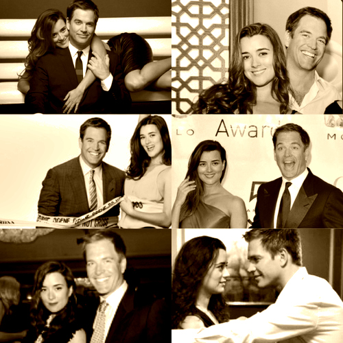 Cote with Michael
