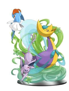 Pokémon leggendari wallpaper entitled Cresselia