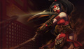 Crimson Akali - league-of-legends photo