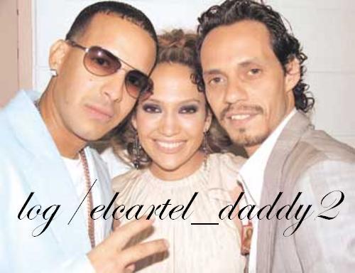 Daddy Yankee, Marc Anthony, Jennifer Lopez