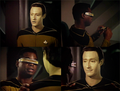 Data and LaForge