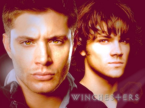 The Winchesters वॉलपेपर containing a portrait titled Dean and Sam Winchester