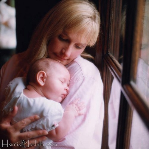 Debbie Rowe with baby Paris! (RARE)