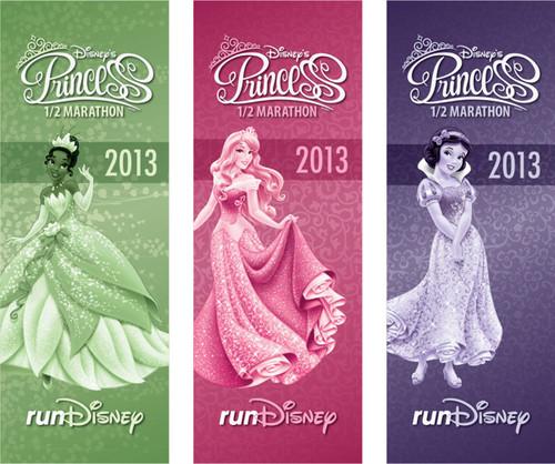 Дисней Princess Half Marathon Expo Banners
