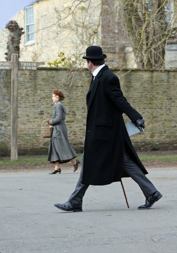 Downton Abbey Seaosn 4 filming