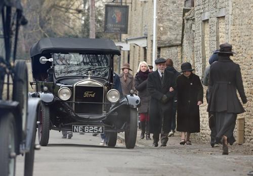 Downton Abbey Season 4 filming