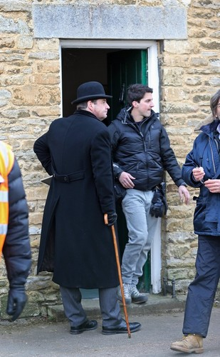 Downton Abbey Season 4 filming