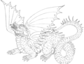 Dragon - drawing photo