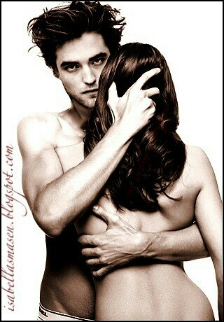 Siri-siri Twilight kertas dinding containing a bikini called Edward and Bella