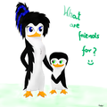 Emma and Ashley :3 *request* - emma-the-penguin photo