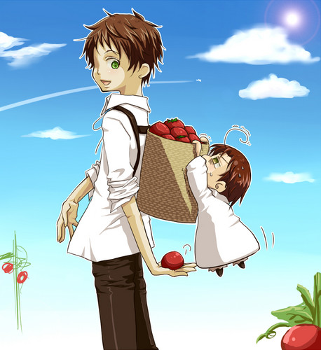 Hetalia Spain fond d'écran possibly containing a well dressed person and animé titled Espana~