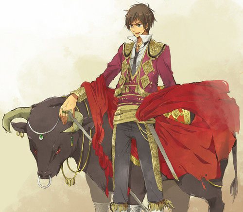 Hetalia Spain fond d'écran containing a surcoat, surcot entitled Espana~