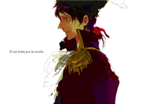 Hetalia Spain fond d'écran possibly with an academic robe called Espana~