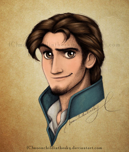 Childhood Animated Movie Heroes wallpaper possibly containing anime entitled Eugene/Flynn