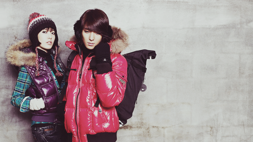 F.T. Island wallpaper probably with a fur coat, an overgarment, and a box coat called FT Island