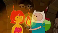 "Flame Princess and Finn from ""Vault of Bones"" - flame-princess photo"