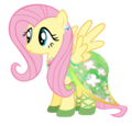 Fluttershy - The Mane Dress Project