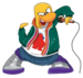 Franky - club-penguin icon