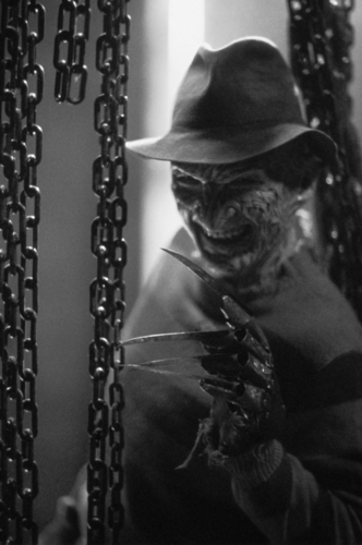 Freddy Krueger wallpaper possibly containing a swing and a campana, bell called Freddy Krueger