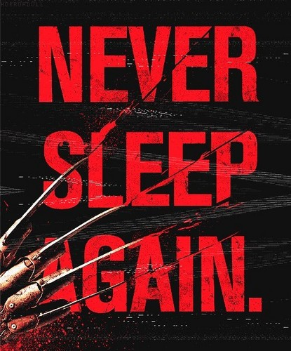 Freddy Krueger 바탕화면 with 아니메 titled Never Sleep Again..