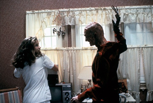 Freddy Krueger and Nancy Thompson