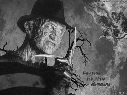 Freddy Krueger karatasi la kupamba ukuta called Freddy