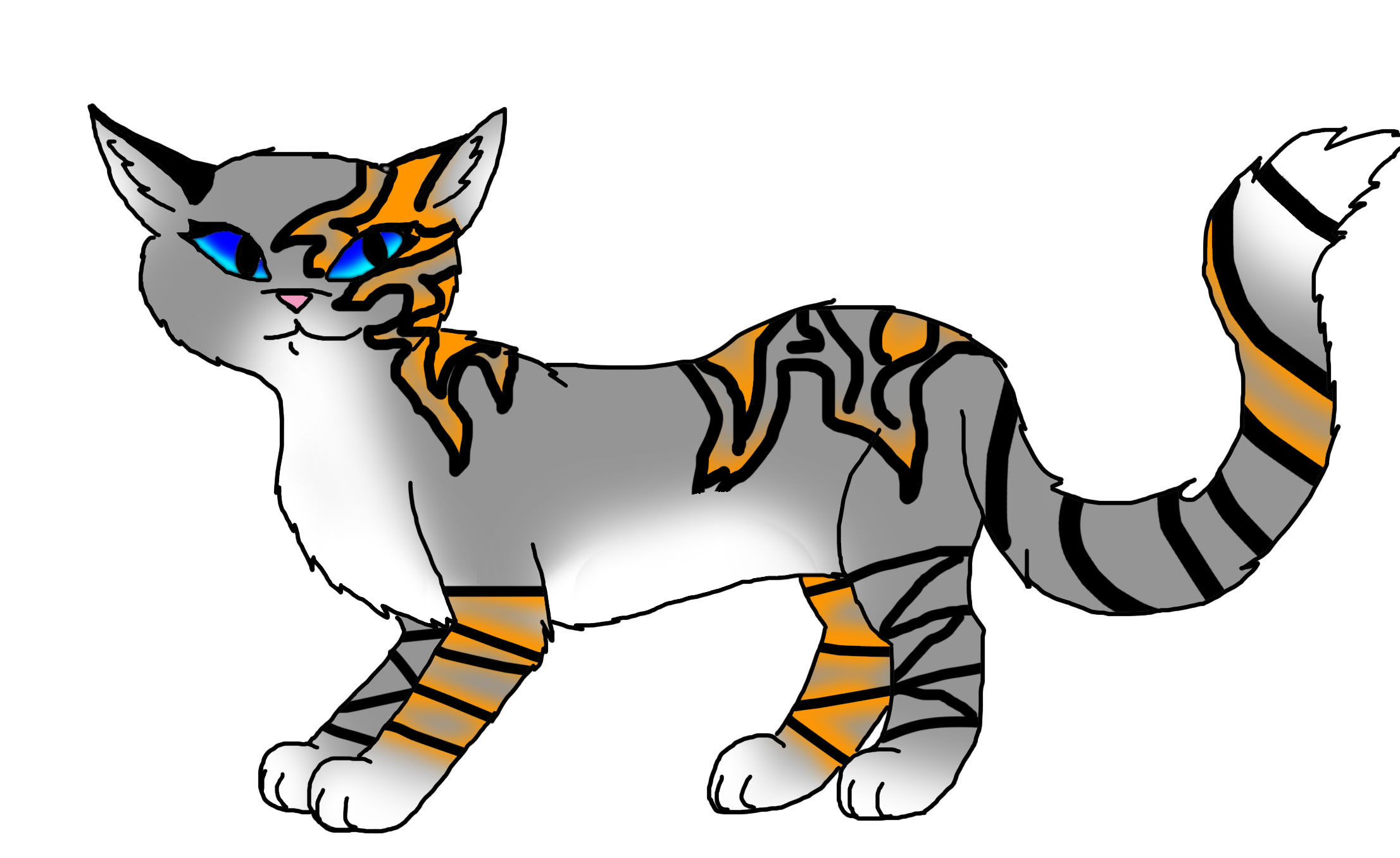 Frostfire - Make Your Own Warrior Cat! Photo (33767374) - Fanpop