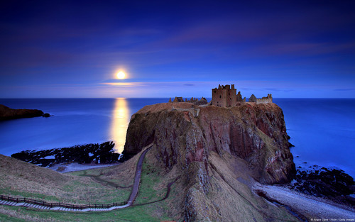 Full Moon Rising-Scotland