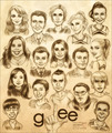 Glee  - glee fan art