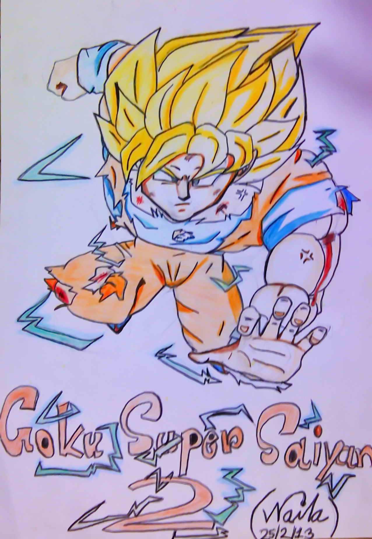 孫 悟空 super saiyan 2