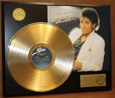 "oro Record For 1982 Release, ""Thriller"""