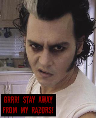 Johnny Depp wallpaper containing a portrait entitled Grrr